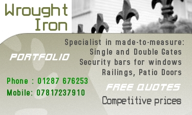 Wrought Iron fencing specialist
